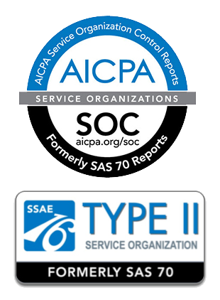 SSAE Type 2 Certified